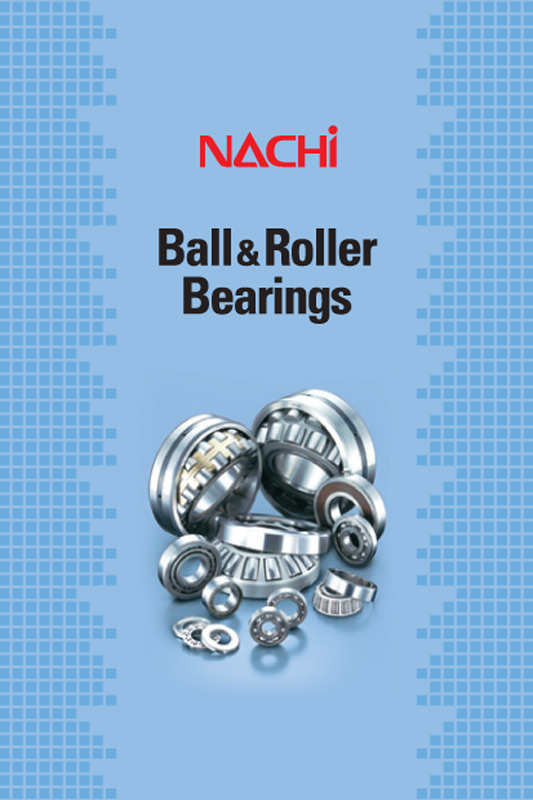 Nachi radial, thrust ball bearings and roller bearings CRB cuscinetti catalogue