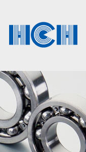 deep groove ball bearings and tapered roller bearings HCH catalogue